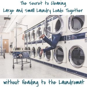 The Secret to Cleaning Large and Small Laundry Loads Together Without Heading to the Laundromat